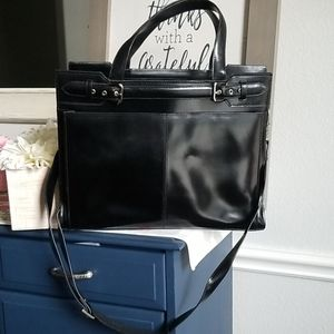 Franklin Covey Leather Professional Laptop Bag